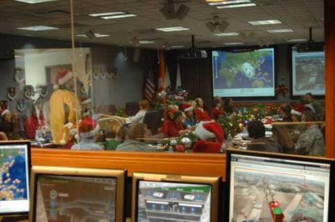 NORAD Tracks Santa - Ops Center