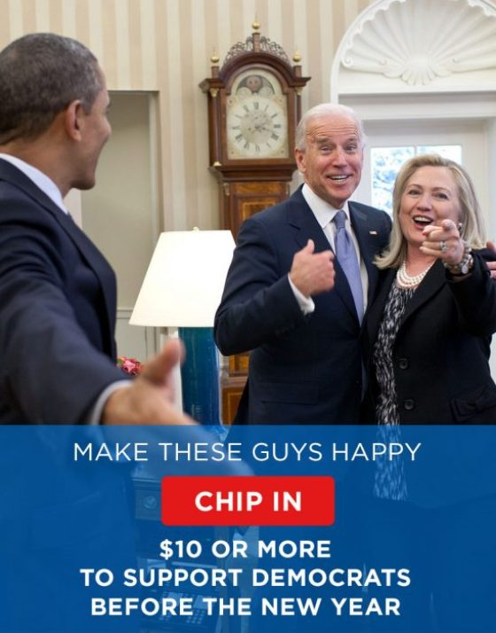 Democratic fundraising email - Dec 30, 2013