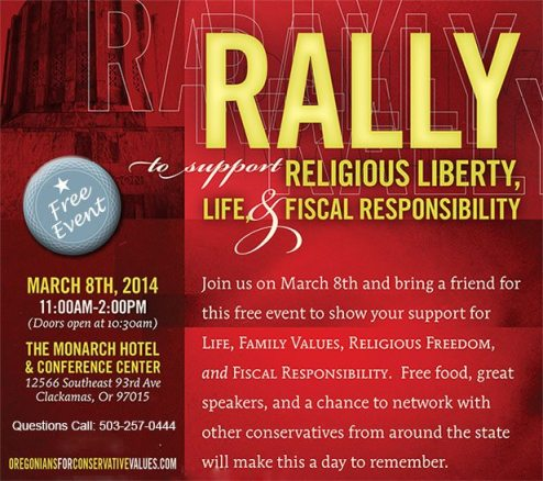 o4cv header 3 Oregonians For Conservative Values Rally   Sat. March 8th