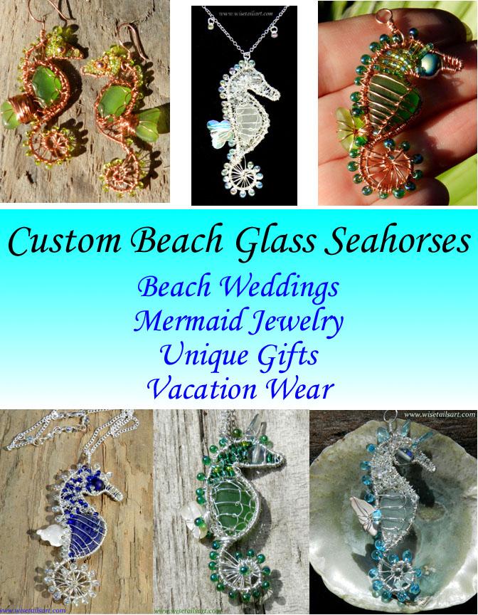 Michaeline McDonald Custom Seahorse Jewelry