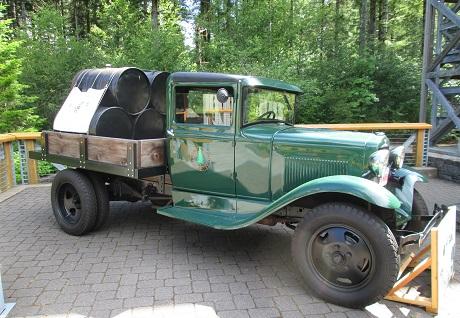 Tillamook Forest Center Pumper Truck