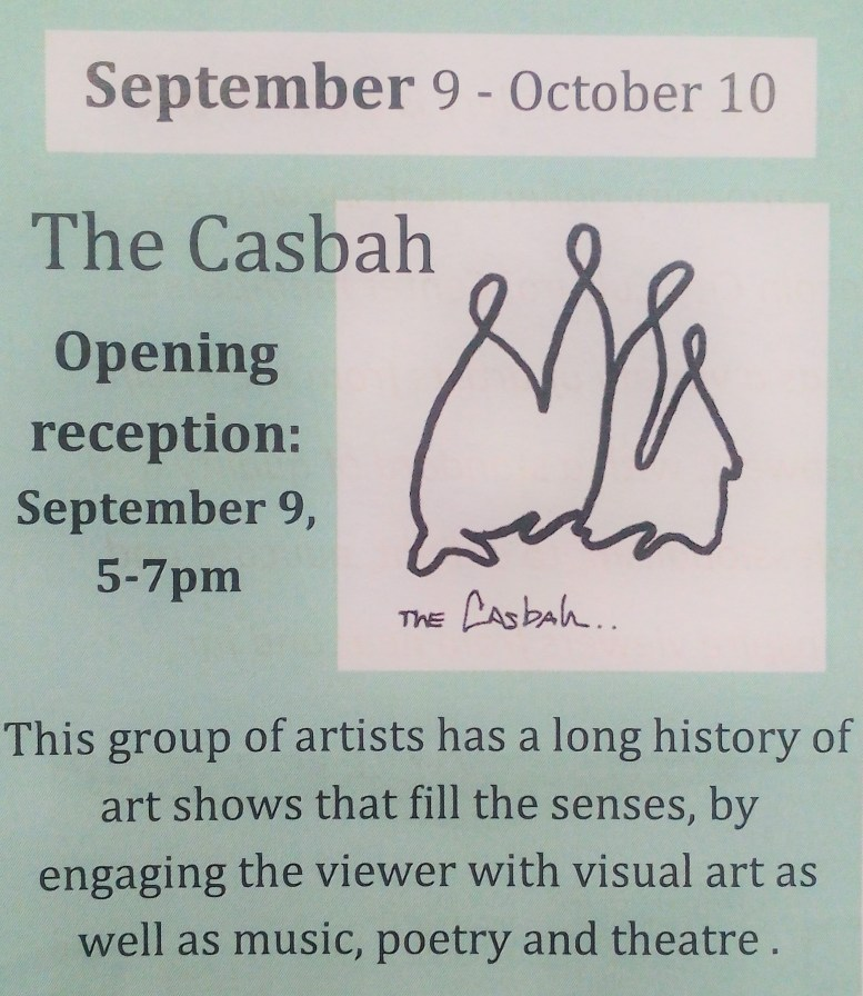 The Casbah Sept 2016