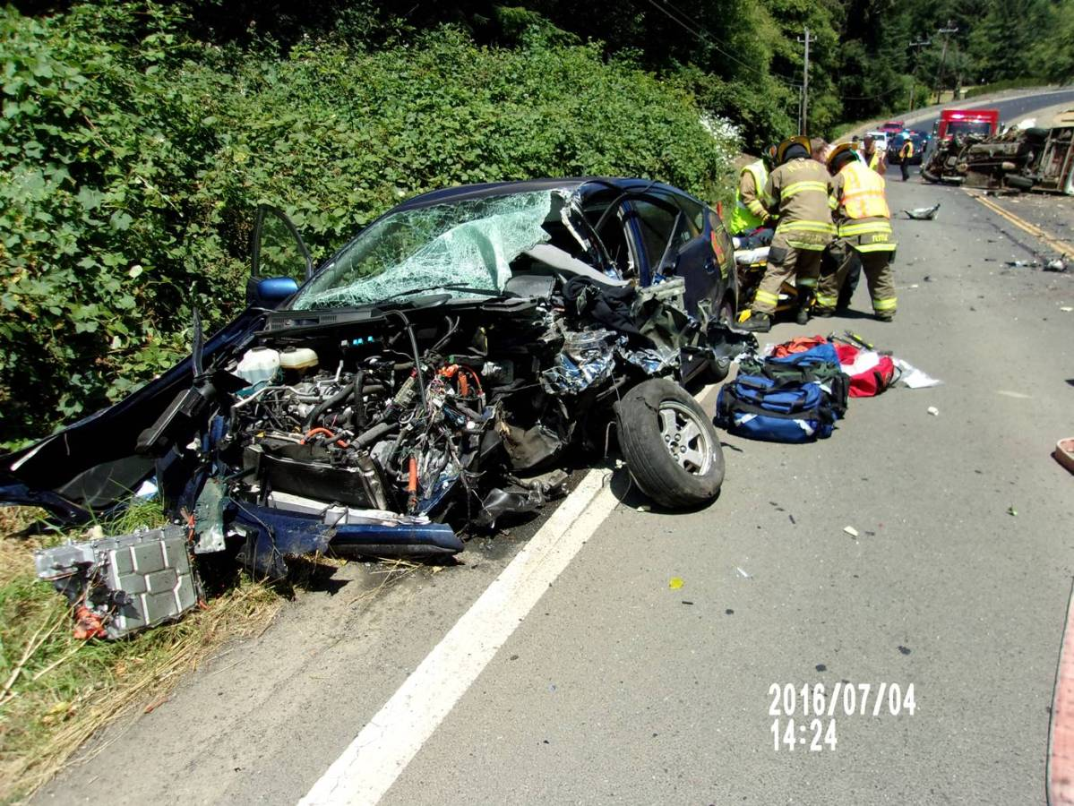 Hwy 101 Crash in Lincoln City Injures Three