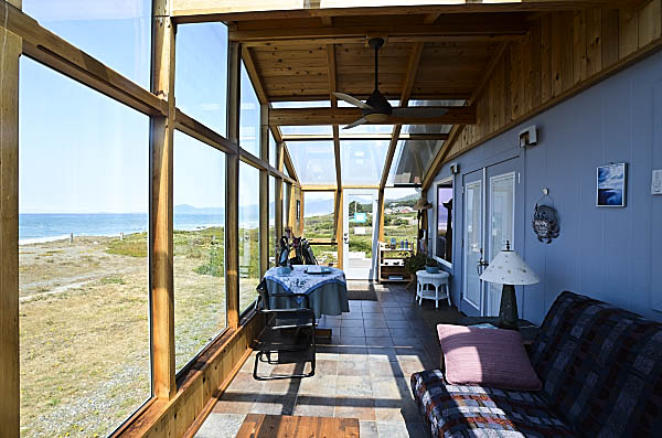 Sunroom Lands End Beach House
