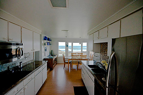 Kitchen at the Beach House