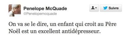 On va se le dire, dit Pénélope McQuade