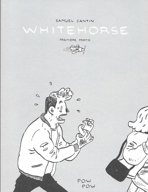 Samuel Cantin, Whitehorse, 2015, couverture