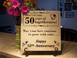 Small Of 50th Anniversary Gift Ideas