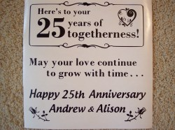 Amusing Parents Nepali This Personalized Wedding Anniversary Tile Tiles Anniversary Quotes Parents Images Anniversary Quotes