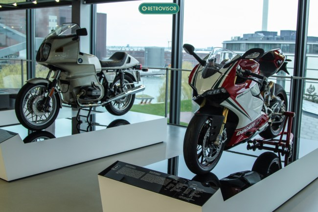 Amantes de motos também vão se divertir no museu