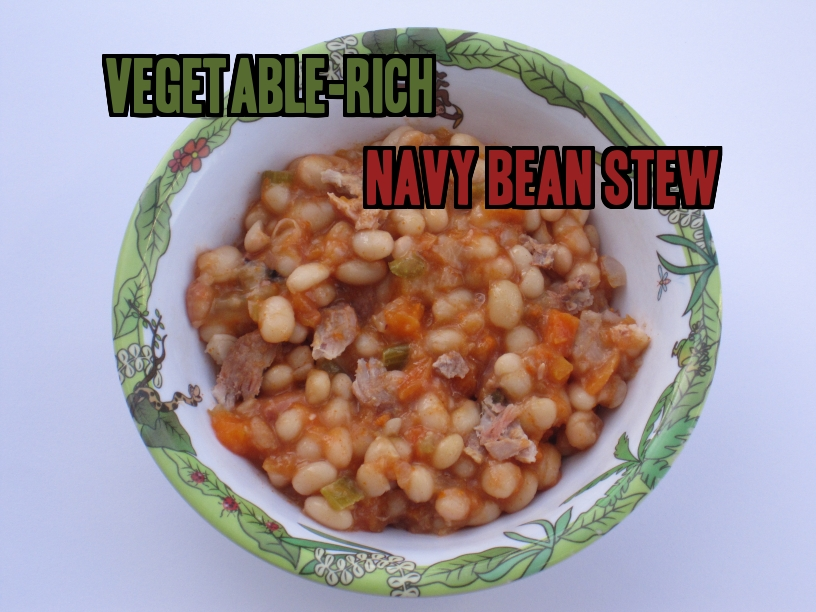 Nutritious and delicious navy bean stew