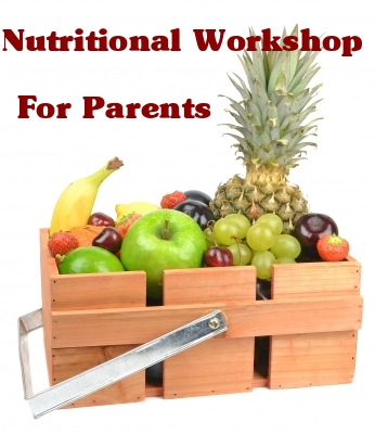Nutritional workshop for parents