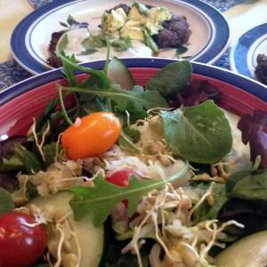 Lentil Spouts Salad