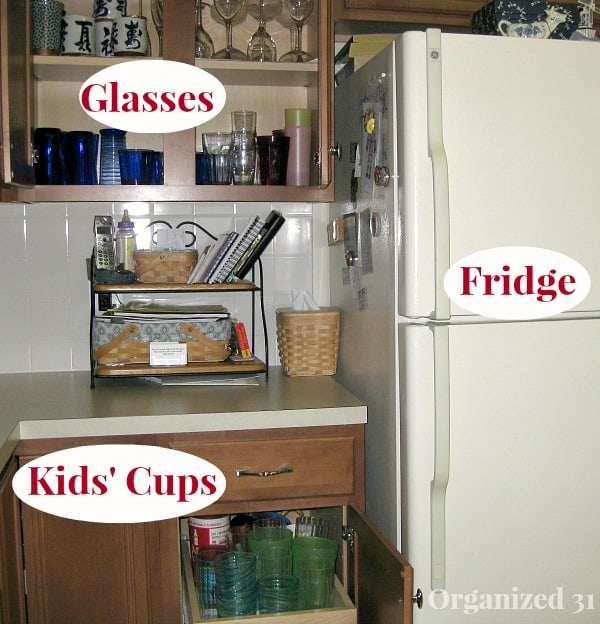 Place Items Near Where You Use Them - Organized 31