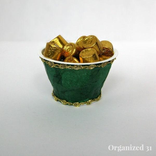 embellished cup