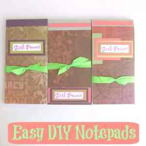 Easy DIY Notepad - Organized 31