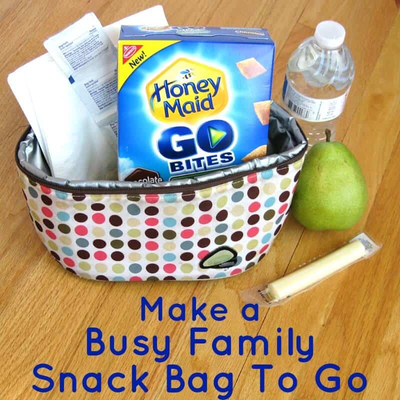 Busy Family Snack Bag  & Recipe - Organized 31  #ThisIsWholesome  #Ad  #CleverGirls