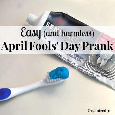 Easy April Fools' Day Prank Idea