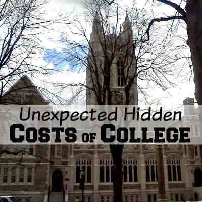 Unexpected Hidden Costs of College