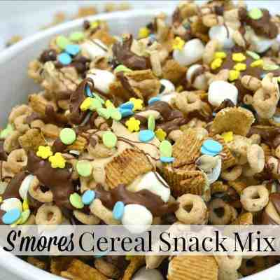 Give the Gift of Cheerios™ and Memories – Cereal Snack Mix Recipe