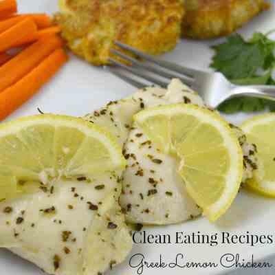 Clean Eating Recipes – Greek Lemon Chicken