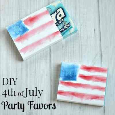 DIY 4th of July Favors