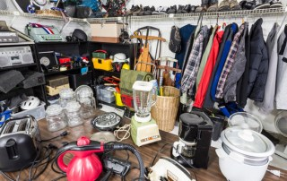 Clutter in the basement