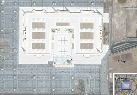 Citra Satelite Masjid Nabawi