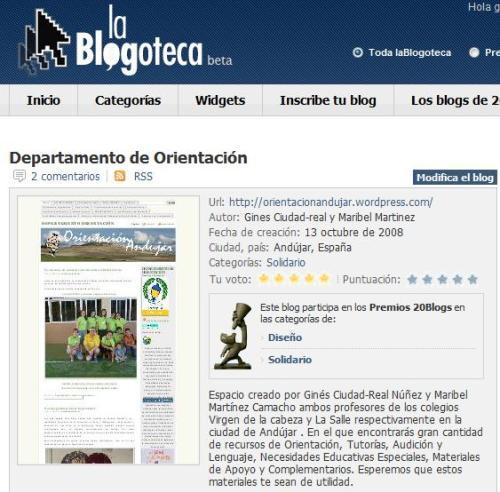 la blogoteca