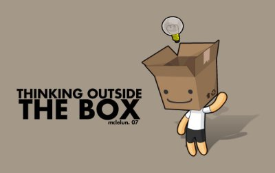 Thinking Outside The Box by mclelun on DeviantArt