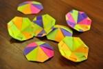 Origami Brinquedo Pião