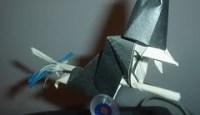 Origami Bruxa de David Brill