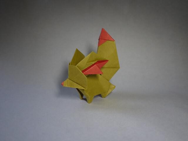 Origami Fennekin