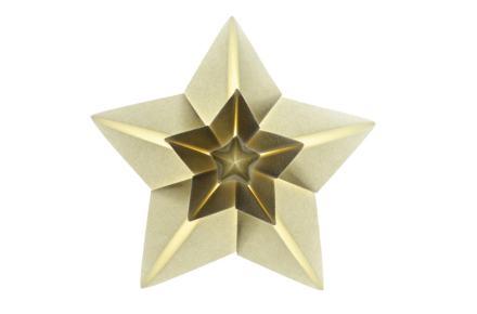 Origami Shining Star