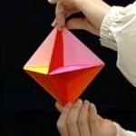 ふきごまの折り紙