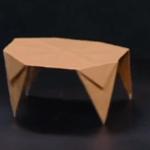 てーぶるの折り紙