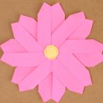 コスモスの折り紙