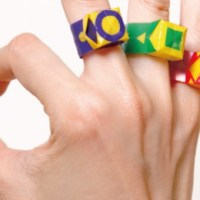 【ニュース】とってもオシャレ!自分で折り紙のように折って作れる指輪