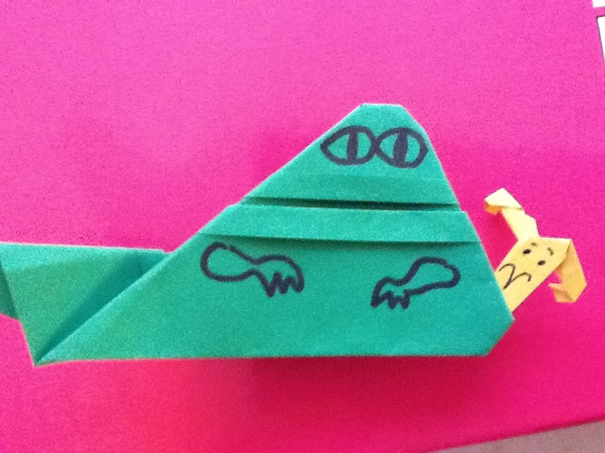 For May the Fourth... EZ Origami Jabba Instructions +more! (1/3)