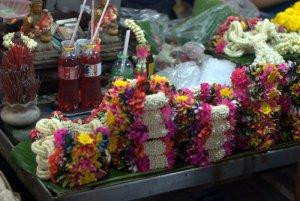 Il mercato dei fiori di Bangkok (foto di Patrick Colgan, 2015)