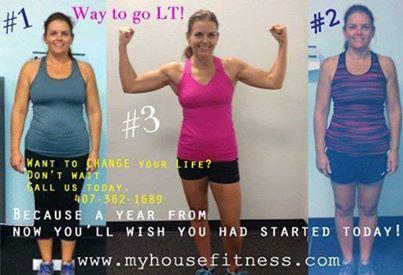 winner of fitness challenge