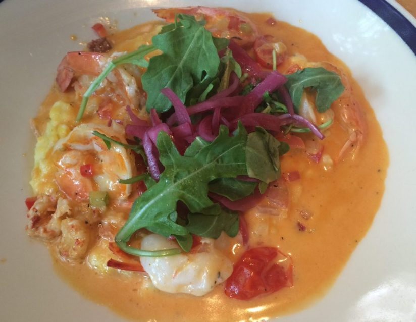 shrimp and grits at the porch dallas