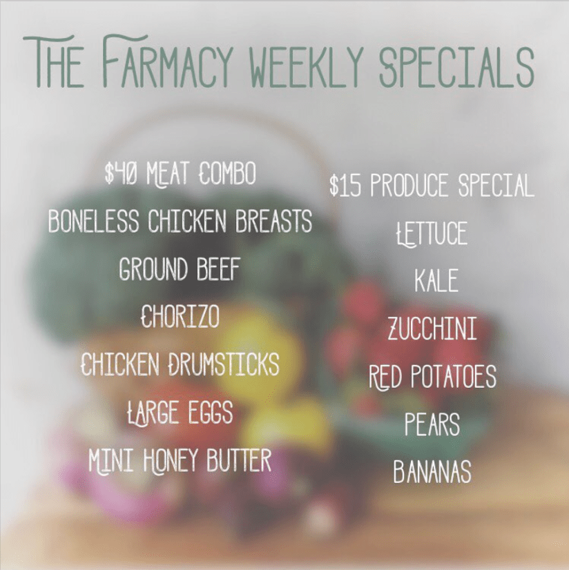 farmacy orlando weekly specials