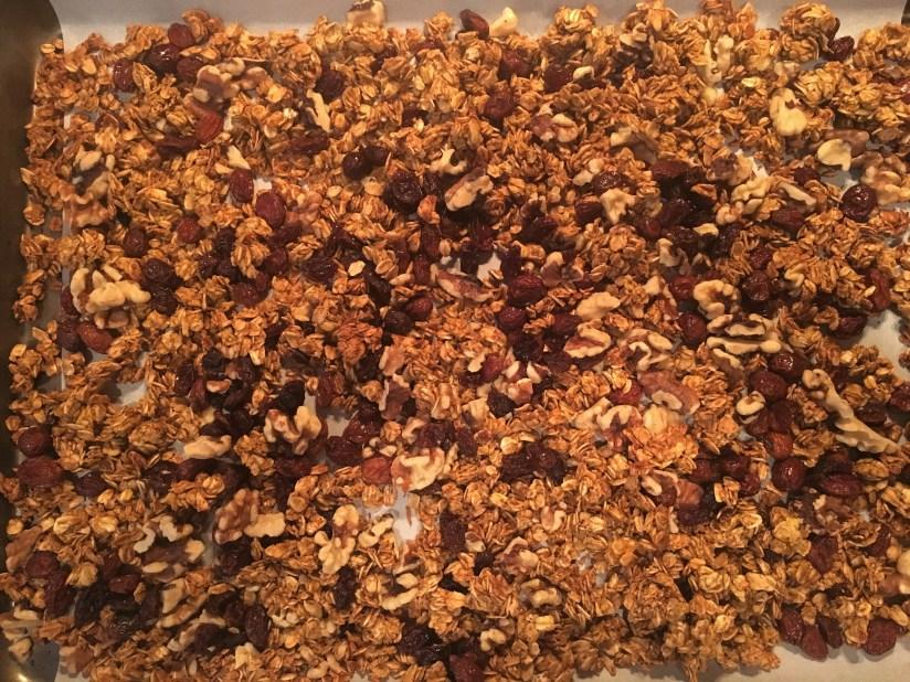 baking pumpkin granola