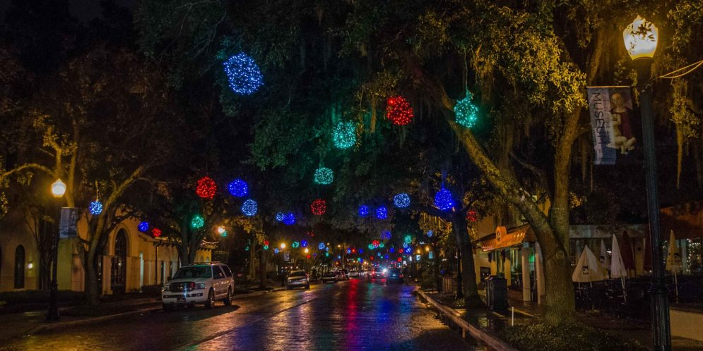 Winter on the Avenue in Winter Park