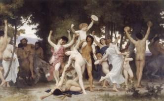 """""""La jeunesse de Bacchus"""" par William Adolphe Bouguereau (source : Wikimedia Commons)"""