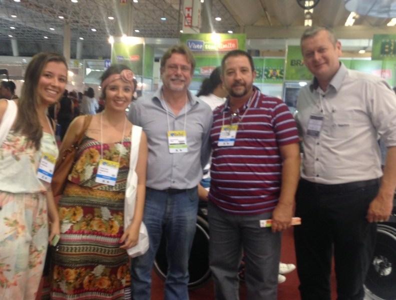 Camila Cunha & Patricia Cunha & Sr. Gino Diretor Presidente da Freedom & Manoel Luiz & Sr. Marcio Weissheimer - Gerente Comercial Freedom.