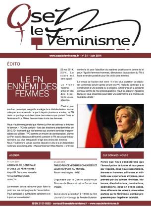 Journal 31 d'Osez le féminisme !_0