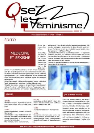 Journal 35 d'Osez le féminisme !