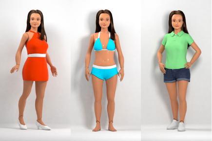 Lammily, l'anti-barbie dalle proporzioni realistiche